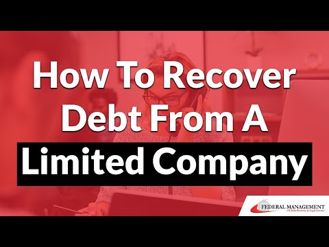 How To Recover Debt From A Limited Company - 14