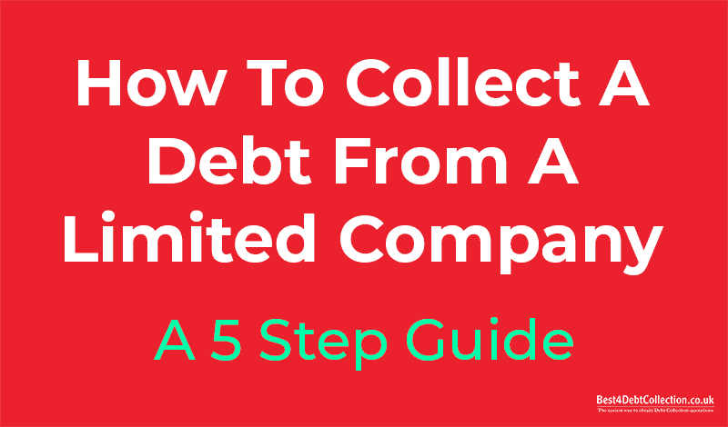 How To Recover Debt From A Limited Company - 1